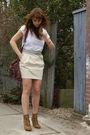 Zara-skirt-zara-boots