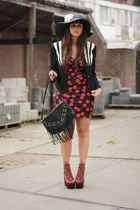 Stopstaringclothing dress - Jeffrey Campbell boots - LoveClothing jacket
