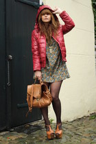 Jambangee jacket - Jessica Simpson shoes - H&M dress