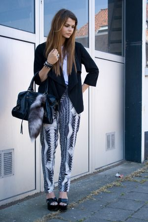 H&M pants - Sonia Rykiel shoes