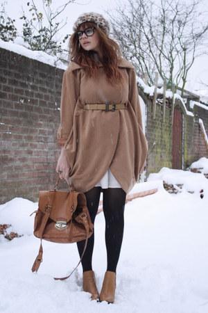 Chloe boots - wwwohmyfrockcom coat - H&M hat