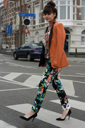 Chicwish blazer - H&M pants