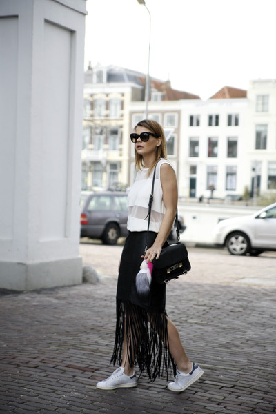 SuperTrash skirt - Proenza Schouler PS11 bag - Celine sunglasses