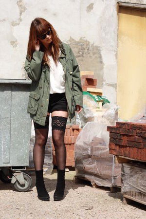 Zara shoes - Primark jacket