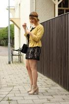 Topshop jacket - vintage skirt