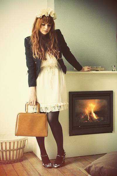 Miu Miu heels - Beginningboutique dress