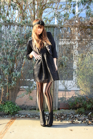 H&M dress - Topshop tights