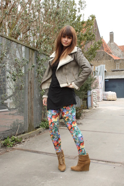H Amp M Garden Collection Leggings Zara Shoes Zara Jackets
