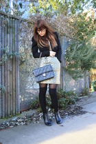 H&M dress - H&M boots - Vero Moda jacket