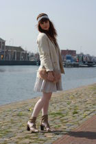 asos bag - Zara boots - H&M dress - H&M garden collection blazer