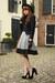 H&M skirt - YSL shoes