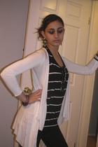 accessories - blazer - leggings - bracelet - cardigan - earrings
