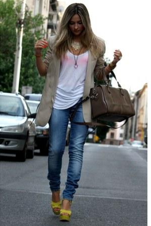 H&M blazer - Zara heels