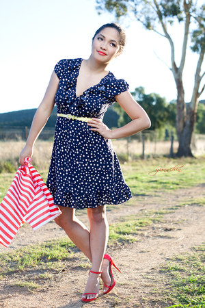 polka dot Lipsy dress