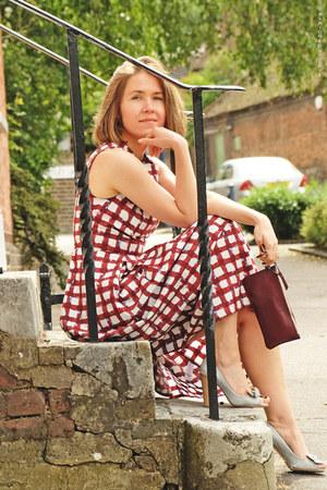 asos dress - Nina Ricci bag - Car Shoe pumps