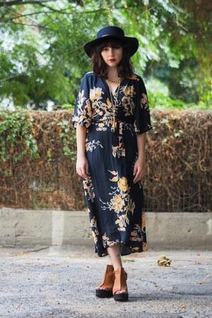navy Sheinside dress