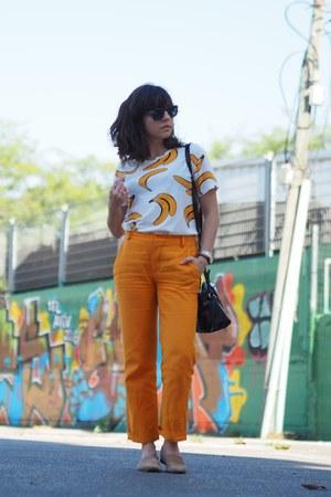 light orange Zara pants