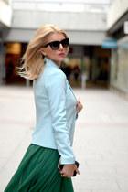 asos skirt - Valentino shoes - Hugo Boss bag