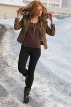 Frye boots - Miss Sixty jacket