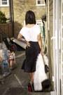 Black-decollete-christian-louboutin-shoes-white-faux-fur-michael-kors-coat