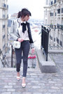 Charcoal-gray-cheap-monday-jeans-heather-gray-la-redoute-jacket