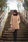 Zara-coat-asos-accessories-vintage-bag-andre-shoes