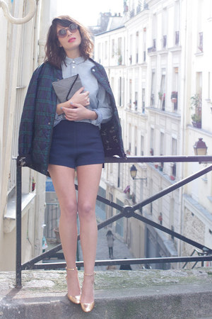 navy Eleven Paris jacket - periwinkle Eleven Paris shirt