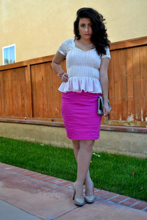 H&M top - Charlotte Russe skirt