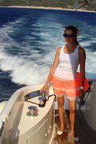 white alloys top - Agu skirt - white from Turkey shoes - white Michael Kors acce