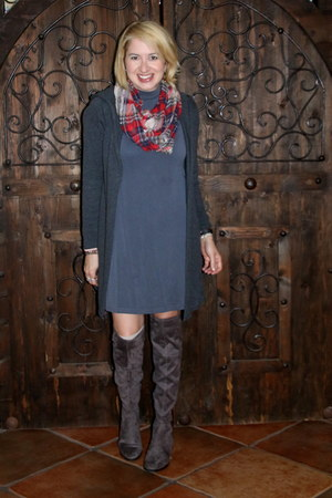 gray cotton cotton on dress - charcoal gray otk boots Guess boots