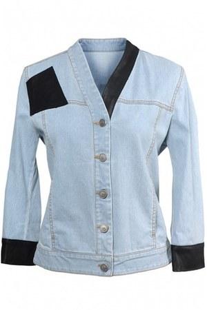denim jacket mcq alexander mcqueen jacket