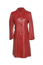 leather coat see by chloé coat