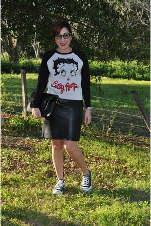 Target sweater - Macys skirt