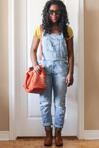 overall Zara jeans