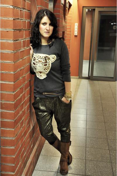 sequinned Zara pants