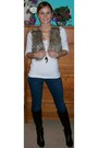 Blue-hollister-jeans-white-new-york-company-sweater-brown-charlotte-russe-