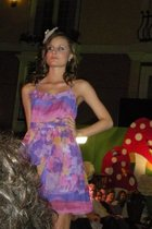 purple Forever 21 dress