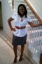 Agaci belt - Agaci heels - rainbow skirt