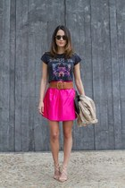 metallic pucci skirt - Jimmy Choo sandals