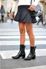Black-ankle-boots-acne-boots-black-leather-proenza-schouler-bag