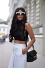 White-cat-eye-asos-sunglasses-black-proenza-schouler-bag