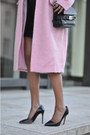 Light-pink-cocoon-asos-coat-black-turtleneck-cos-sweater