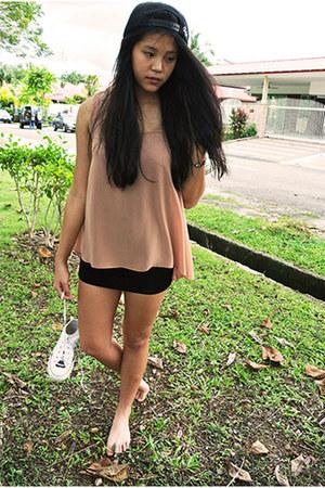 bangkok dress - newera hat - Converse sneakers