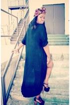 Jessica Simpson sandals - asos shirt - coral sequin H&M skirt