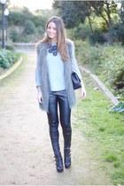 leather pants H&M pants