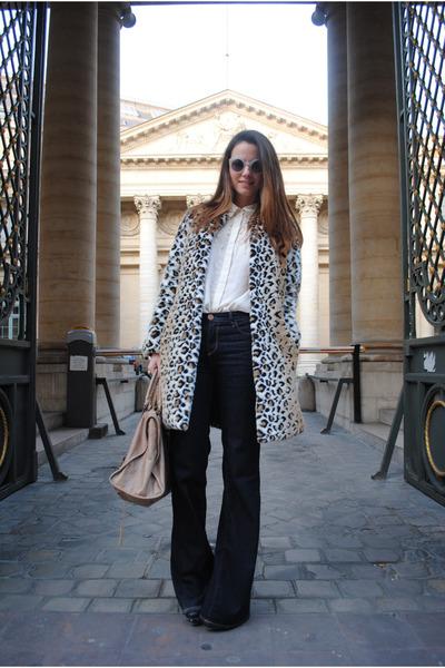 Zara coat - balenciaga bag
