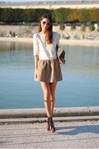 Trussardi bag - H&M dress