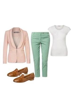 Bourne blazer - Atelier Gauder pants - everybody loafers