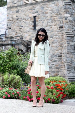 Zara jacket - Via Spiga shoes - Zara bag - kate spade sunglasses