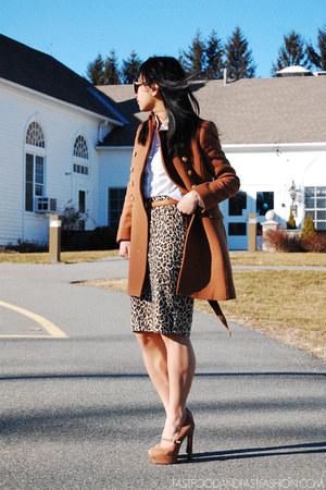 Judi Rosen coat - Hugo Boss skirt